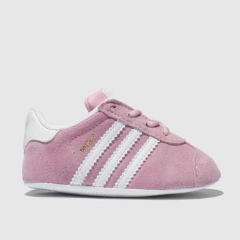 Adidas Pink Gazelle Crib c2namevalue::Girls Baby