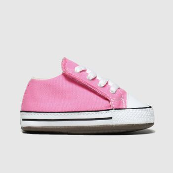 Converse Pink All Star Cribster c2namevalue::Girls Baby