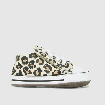Converse Brown & Black Cribster Crib Girls Baby