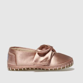 Toms Pink Classic Crib Girls Baby