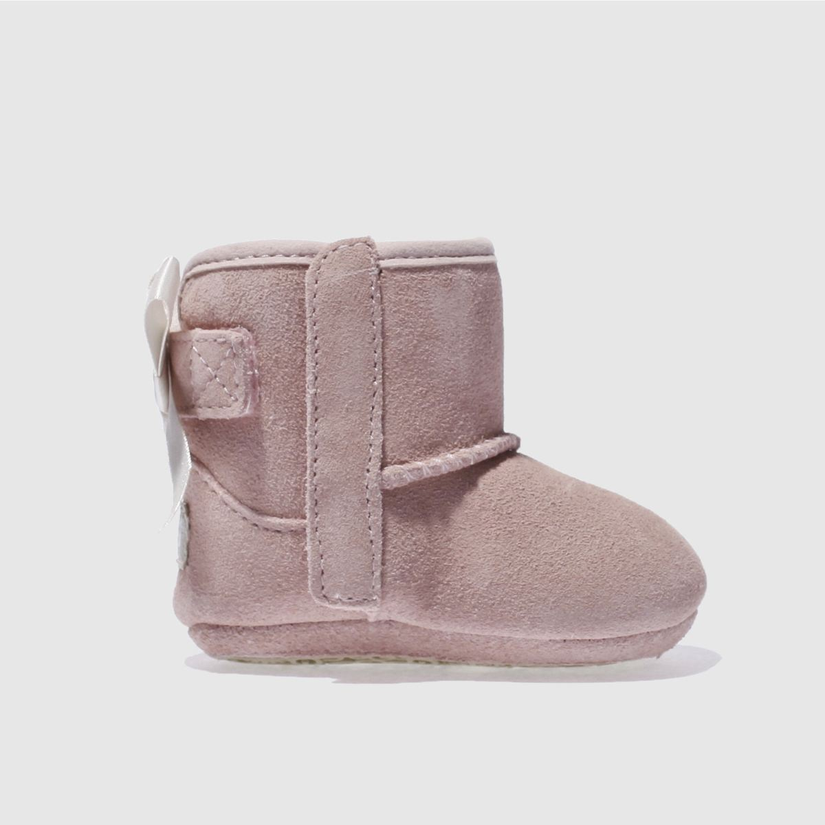 Ugg Pale Pink Jesse Bow Ii Crib Shoes Baby