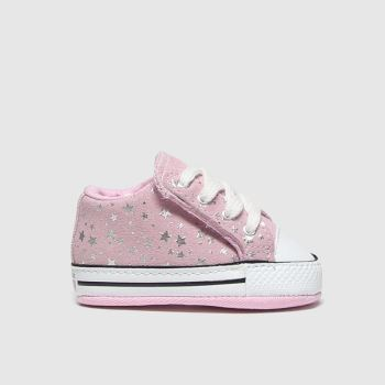 Converse Pink All Star Cribster Shes A Star c2namevalue::Girls Baby
