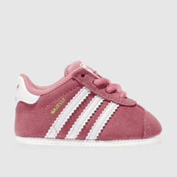 Adidas Pink Gazelle Crib Girls Baby