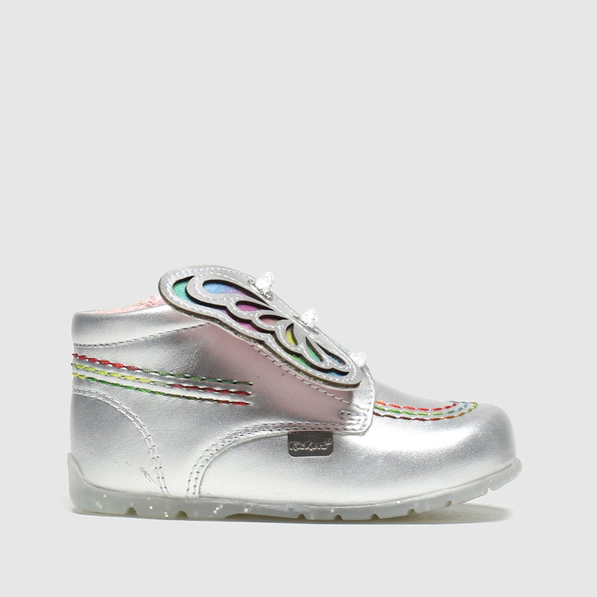 Kickers Silver Kick Faeries Mini Crib Shoes Baby