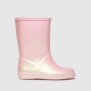 Hunter Pale Pink First Nebula c2namevalue::Girls Toddler