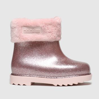 Melissa Pink Winter Boot Girls Toddler