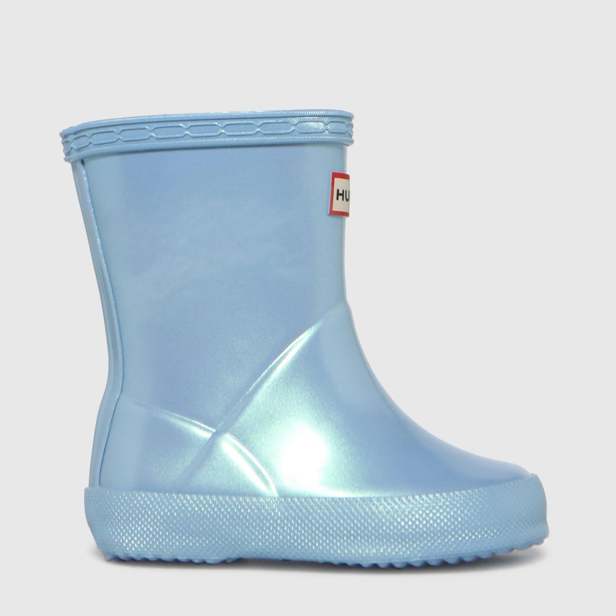 Hunter Pale Blue First Nebula Boots Toddler