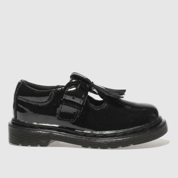 Dr Martens Black Torey Girls Toddler
