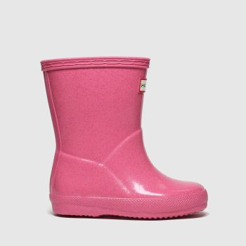 hunter pink kids first starcloud boots toddler