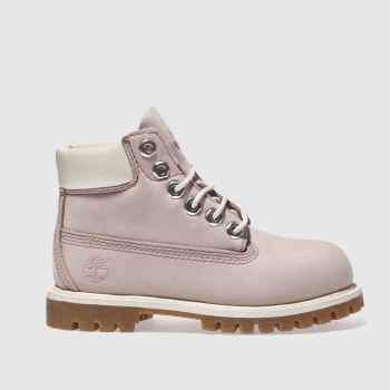 Timberland Pink 6 Inch Classic Boot Girls Toddler