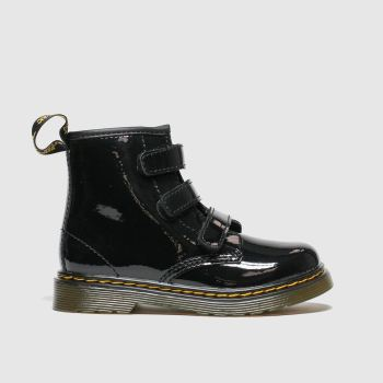 Dr Martens Black 1460 Strap Girls Toddler