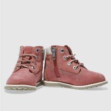 77ffff60cff30 Girls pink timberland pokey pine lace boots   schuh