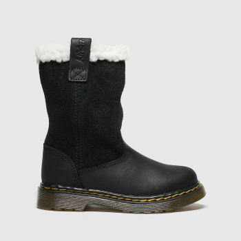 Dr Martens Black Juney Girls Toddler