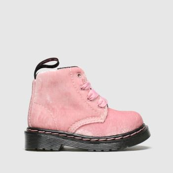 Dr Martens Pale Pink 1460 Pascal Girls Toddler