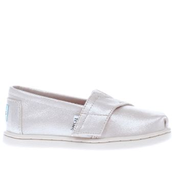 TOMS GOLD CLASSIC GIRLS TODDLER SHOES