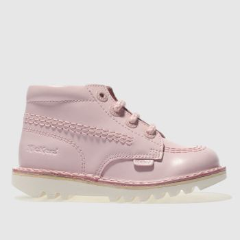 Kickers Pale Pink KICK HI Girls Toddler
