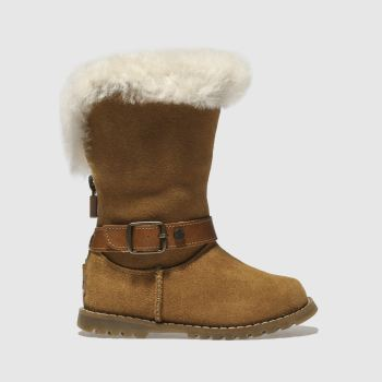Ugg Tan Nessa Girls Toddler
