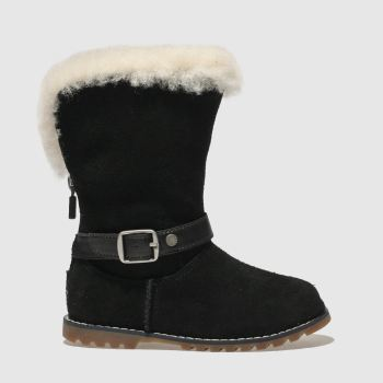 Ugg Black NESSA Girls Toddler
