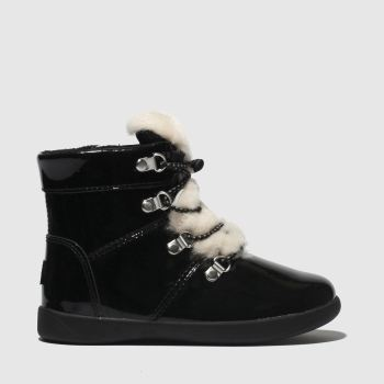 Ugg Black Ager Girls Toddler