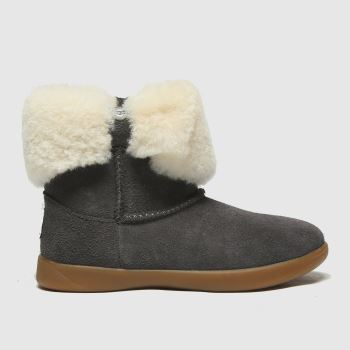 UGG Dark Grey Ramona Girls Toddler