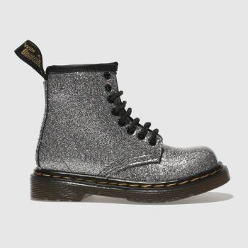 Dr Martens Silver 1460 Glitter Girls Toddler