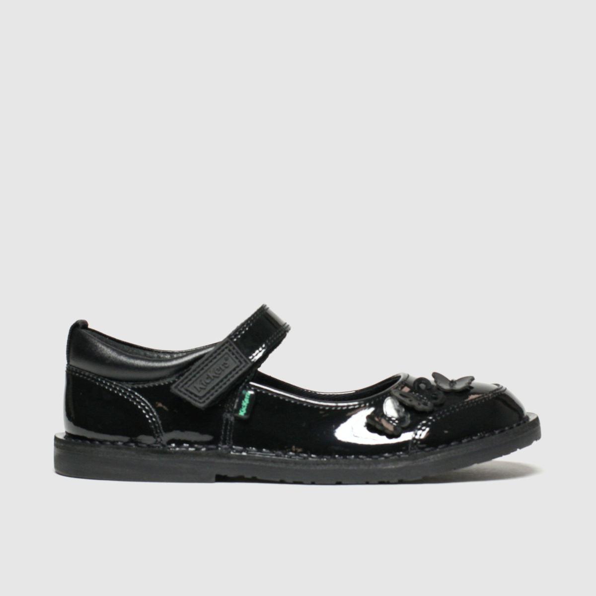 Kickers Black Kick Adlar Flutter Shoes Toddler