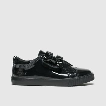 Kickers Black Tovni Lo Bow c2namevalue::Girls Toddler