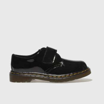 Dr Martens black kamron shoes toddler
