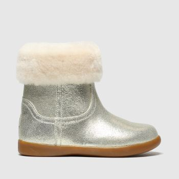 UGG Gold Jorie Ii Metallic Girls Toddler