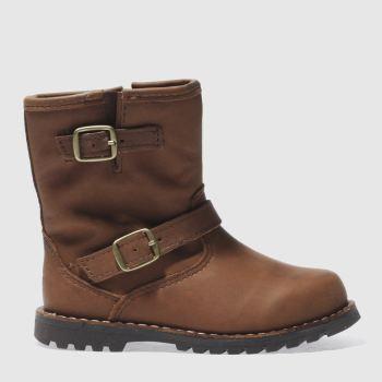 ugg dark brown harwell boots toddler