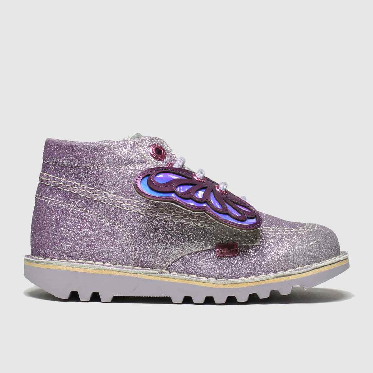 Kickers Purple Hi Faeries Boots Toddler