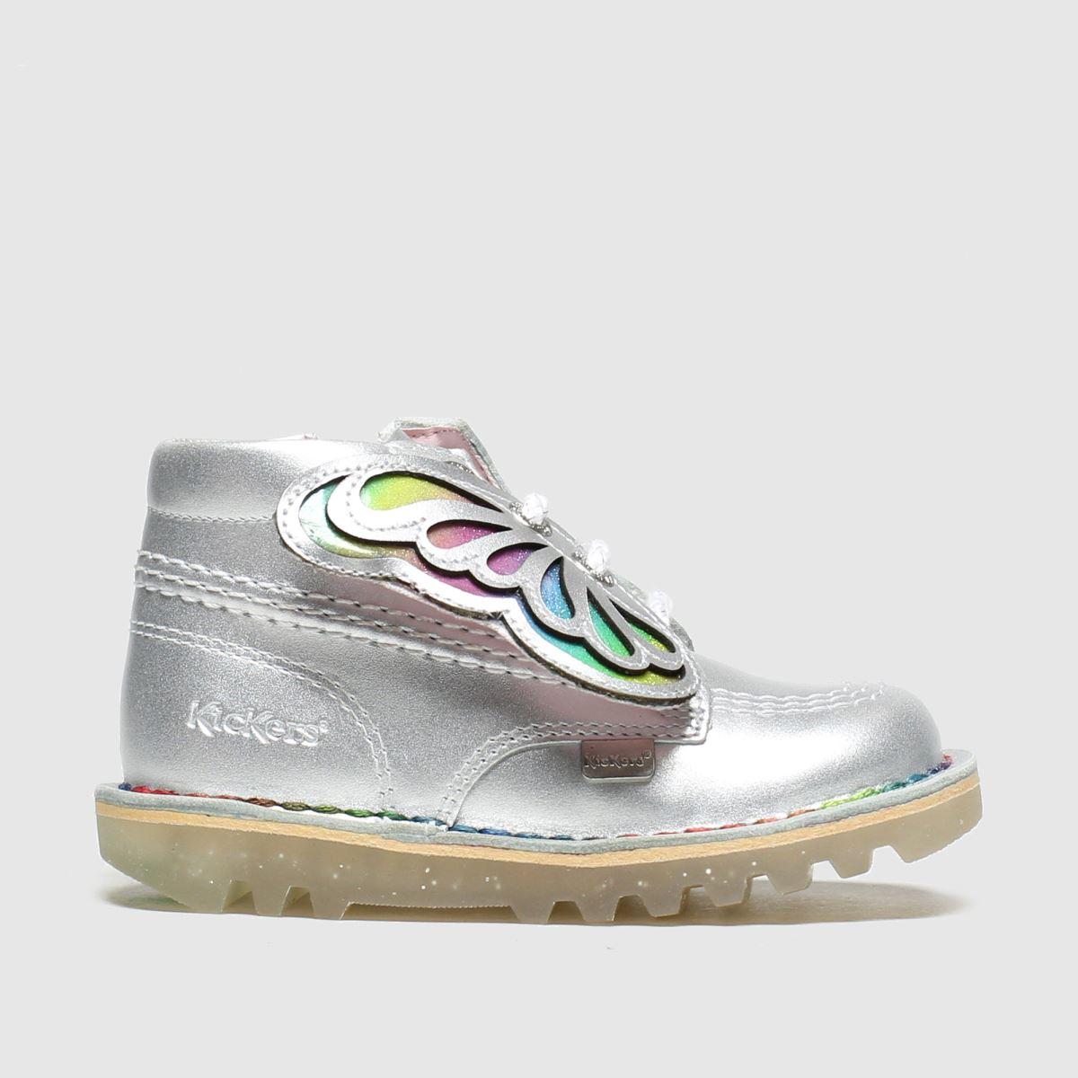 Kickers Silver Kick Hi Faeries Boots Toddler