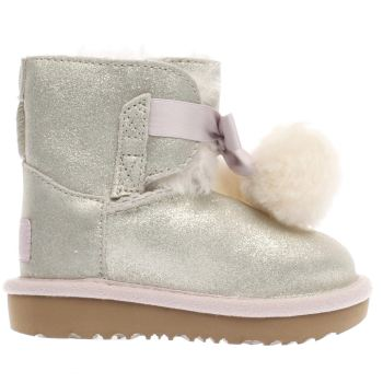 UGG GOLD GITA METALLIC GIRLS TODDLER BOOTS