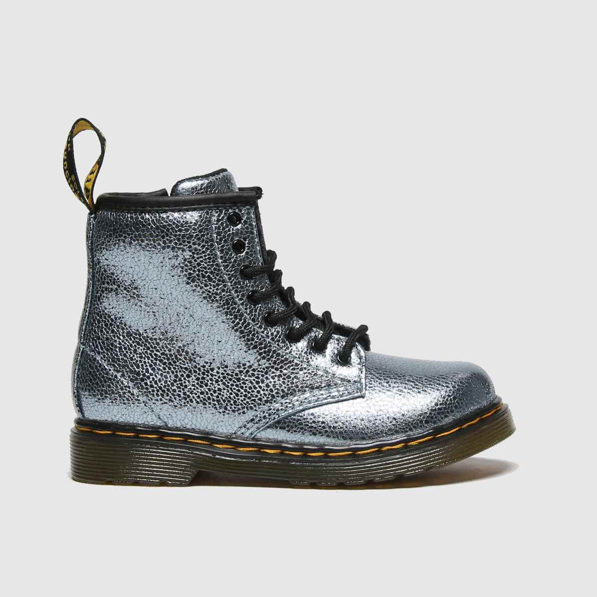 Click to view product details and reviews for Dr Martens Turquoise 1460 Crinkle Metallic Boots Toddler.