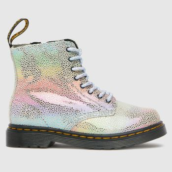 Dr Martens Silver 1460 Pascal Girls Toddler