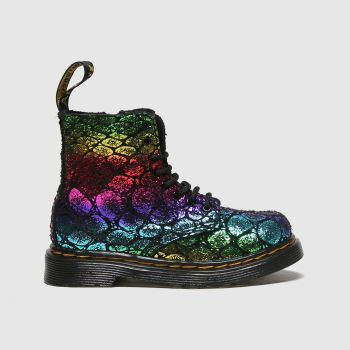 Dr Martens Multi 1460 Pascal Croc Girls Toddler
