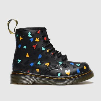dr martens multi 1460 wild hearts boots toddler