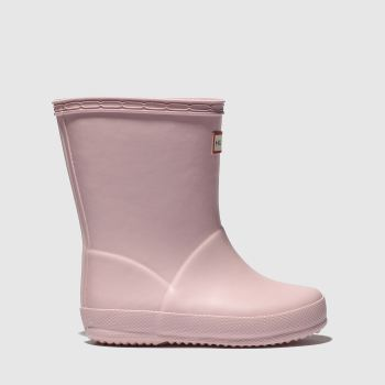 Hunter Pale Pink Kids First Girls Toddler
