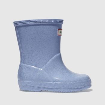 Hunter Pale Blue Kids First Glitter Girls Toddler