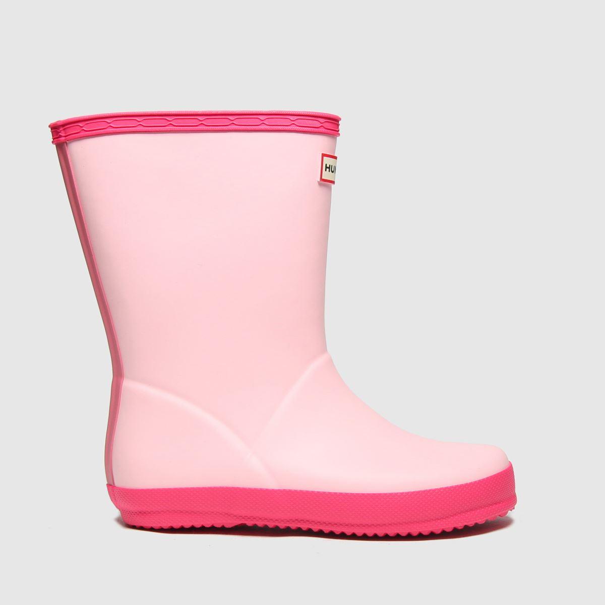 Hunter Pink First Boots Toddler