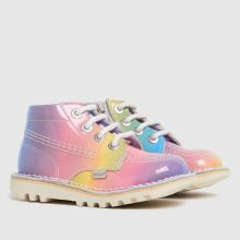 Kickers Hi Rainbow Lthr 1