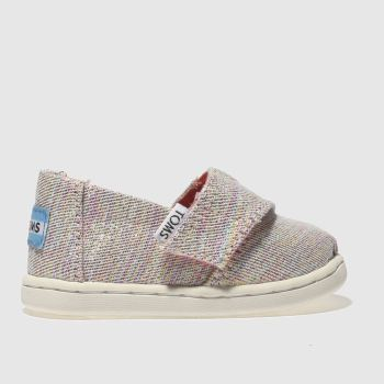 Toms Pink & Blue Classic Girls Toddler
