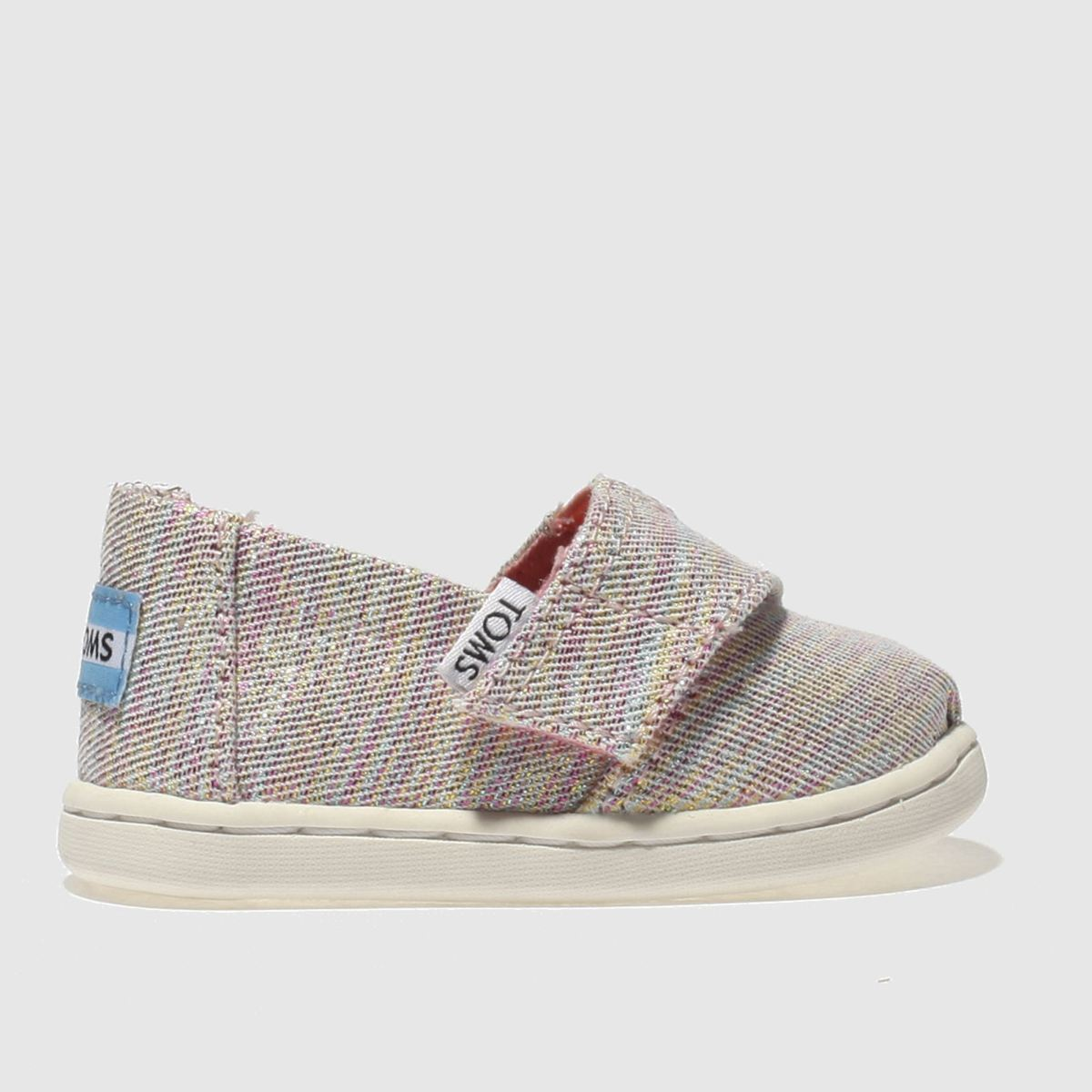 Toms Pink & Blue Classic Boots Toddler