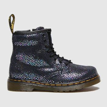 Dr Martens Navy & Silver 1460 Spot Girls Toddler