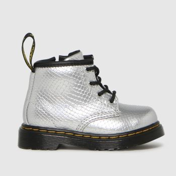 Dr Martens Silver 1460 Girls Toddler