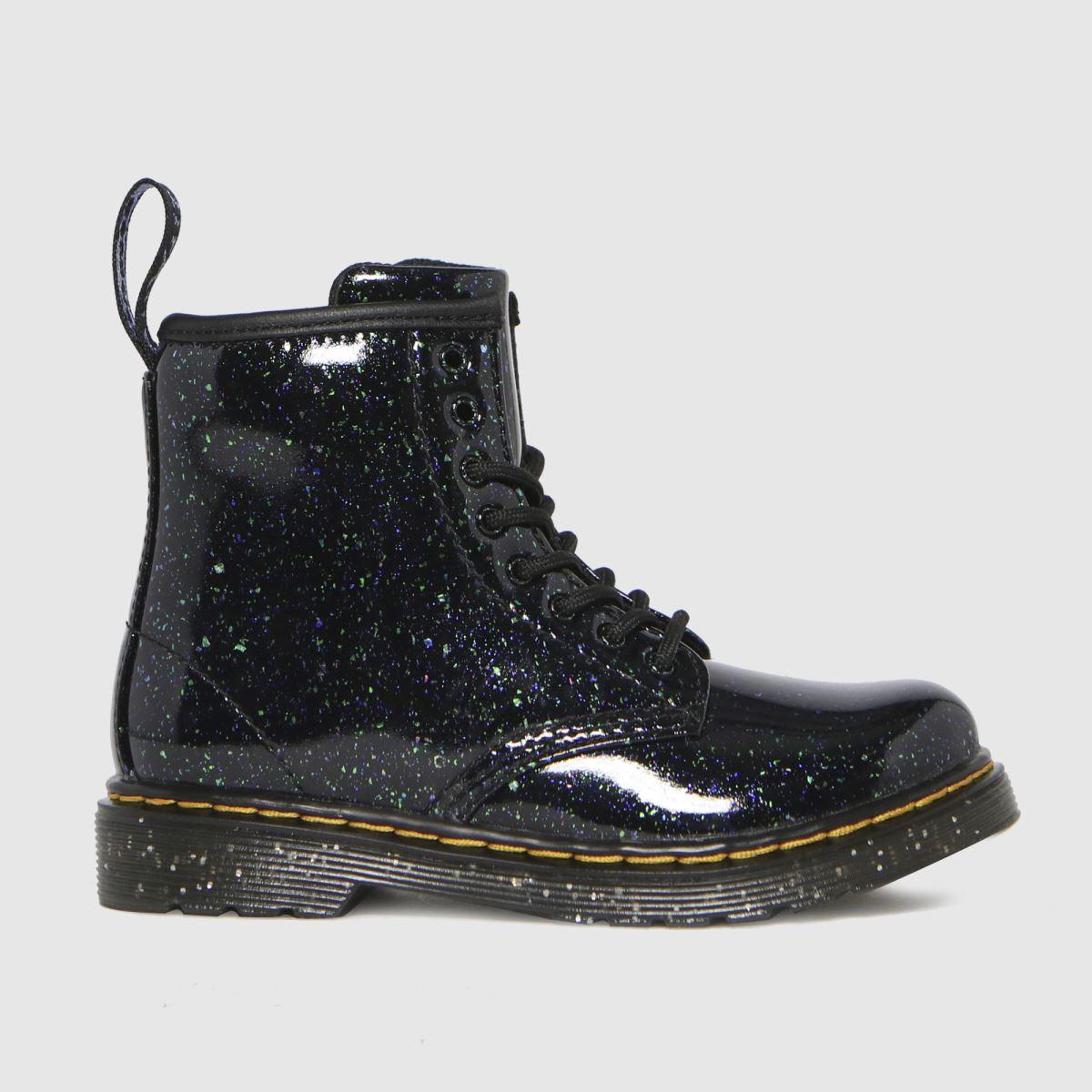 Dr Martens Dark Green 1460 Glitter Boots Toddler