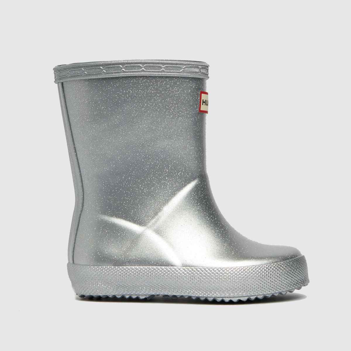 Hunter Silver First Cosmic Boots Toddler