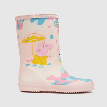 Hunter Pale Pink Kids First Peppa Pig Girls Toddler