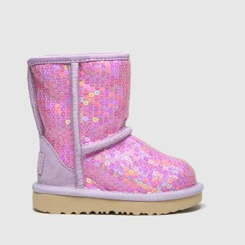 UGG Lilac Classic Ii Sequin Girls Toddler