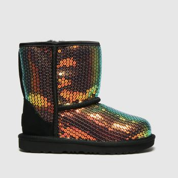 UGG Multi Classic Ii Sequin Girls Toddler